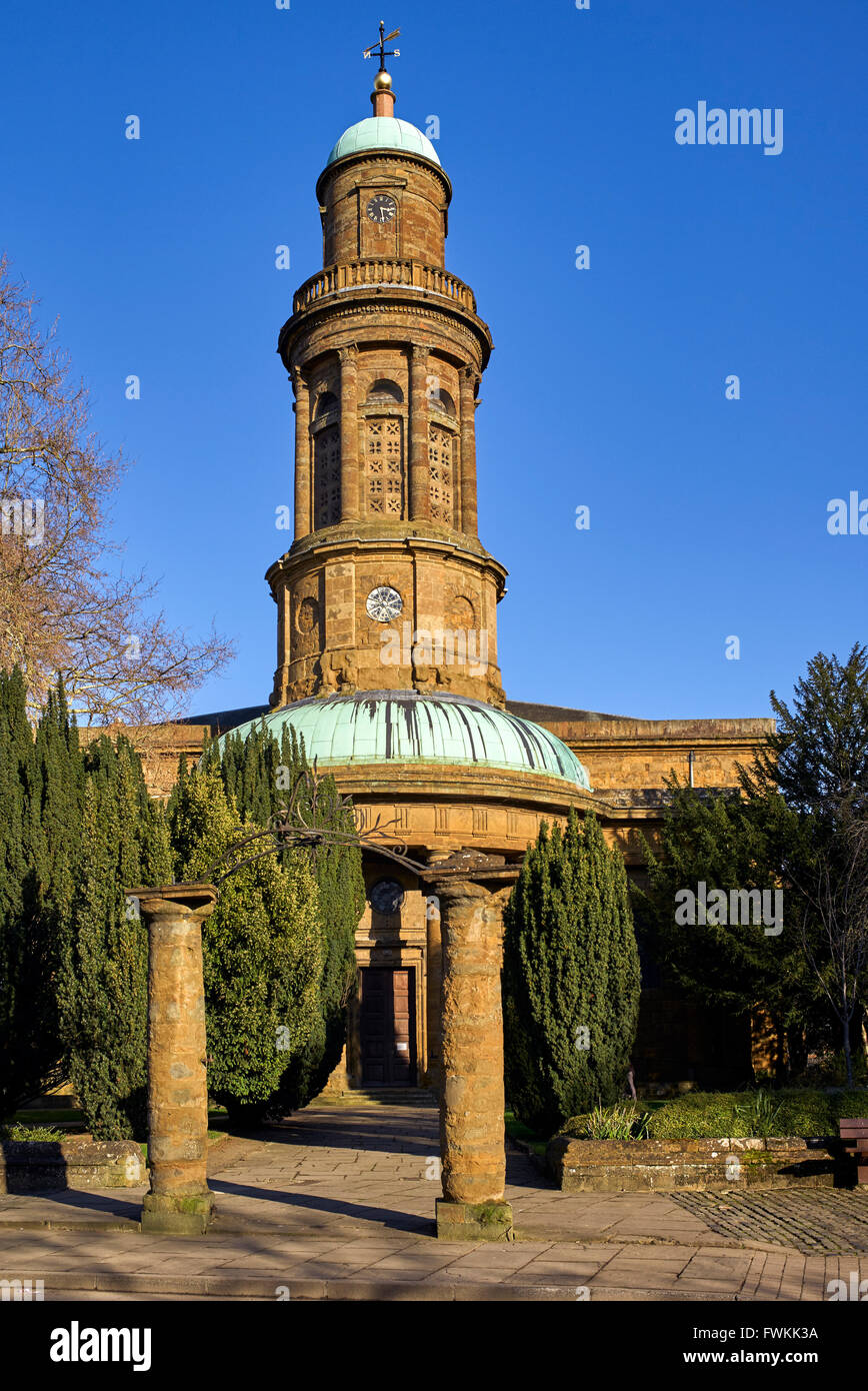 Str. Marys Kirche Banbury Oxfordshire England UK Stockbild