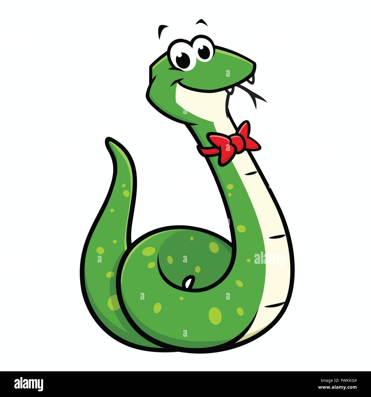 Funny Cartoon Snake Stockfotos & Funny Cartoon Snake Bilder - Seite ...