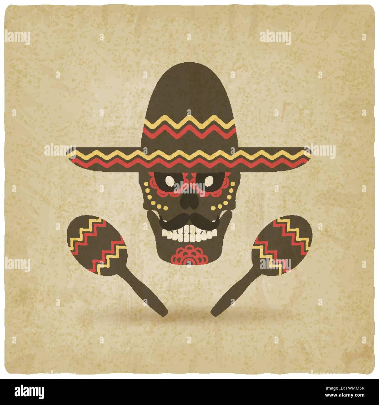 Day Dead Sugar Skull Illustration Stockfotos & Day Dead Sugar Skull ...