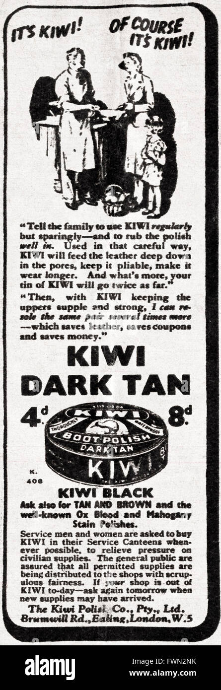 Kiwi datiert