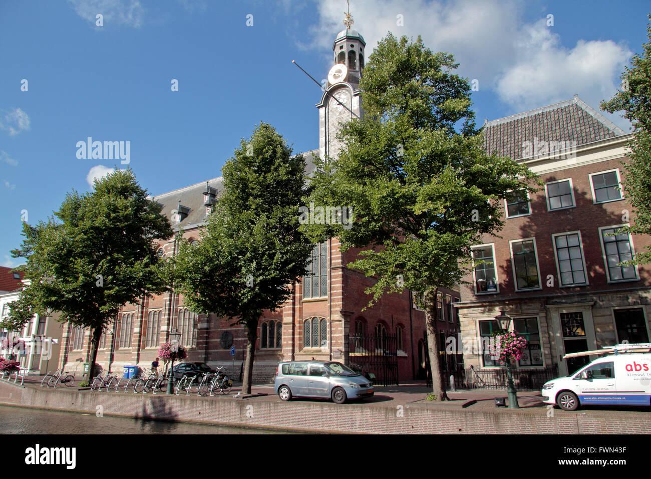 Das Academisch Historisch Museum in Leiden, Südholland, Niederlande. Stockbild