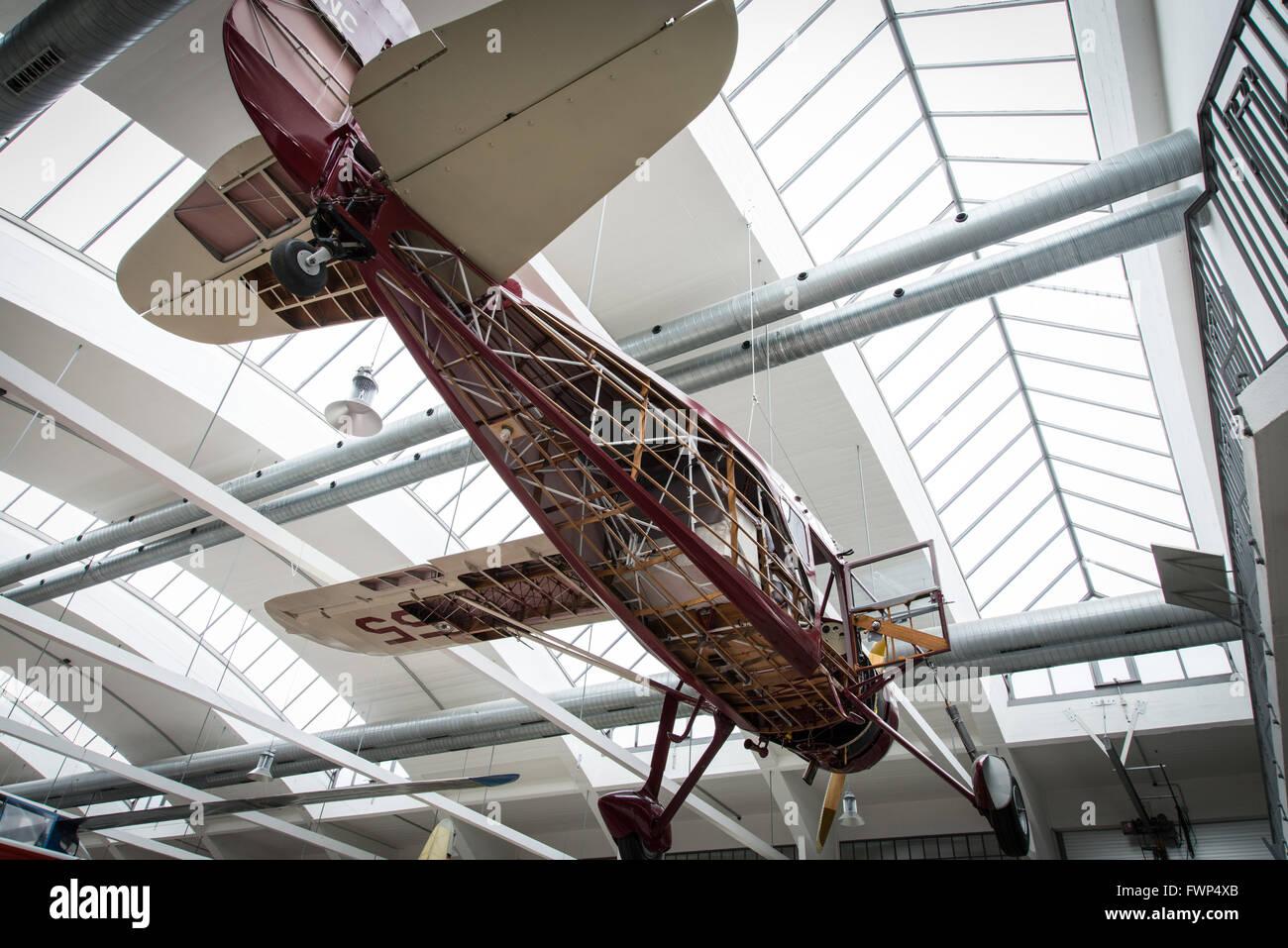 München, Deutschland. 8. Oktober 2014. Das Deutsche Museum Flugwerft ...