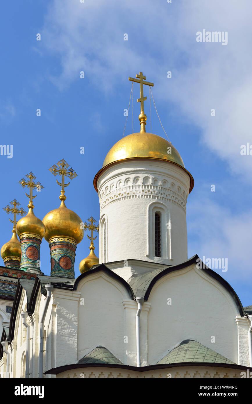 Grundsteinlegung Liebfrauenkirche der Heilige Robe, errichtet im Jahre 1485 von Pskow Handwerker war Heimat Kirche Stockbild