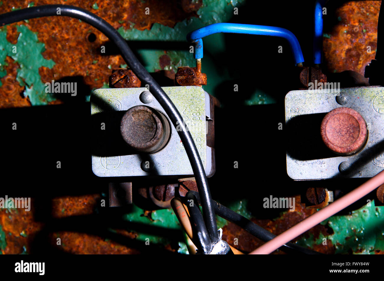 Retro Telephone Switchboard Stockfotos & Retro Telephone Switchboard ...
