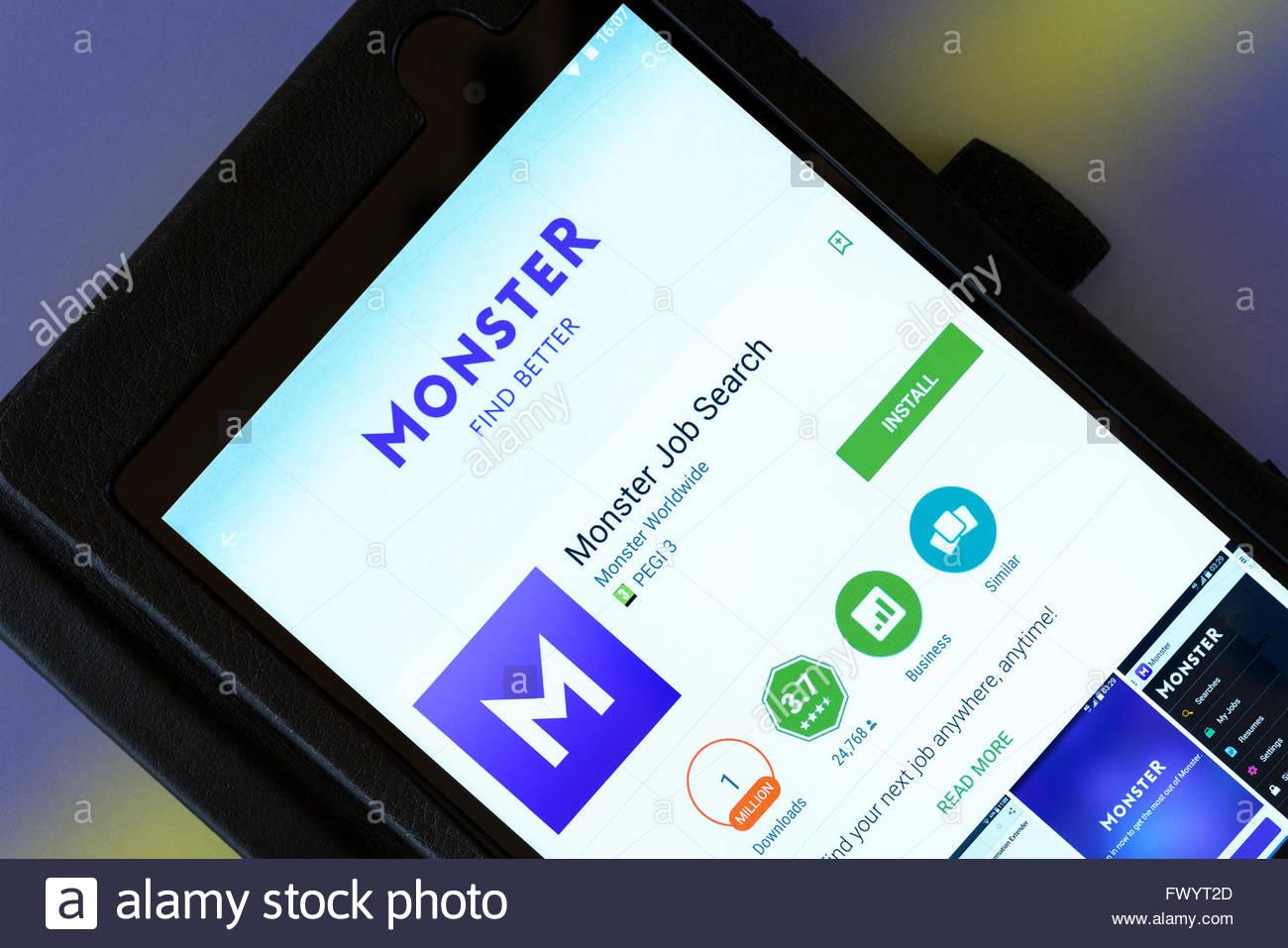 Wunderbar Monster Jobs Beispiel Fortsetzen Ideen - Beispiel Business ...