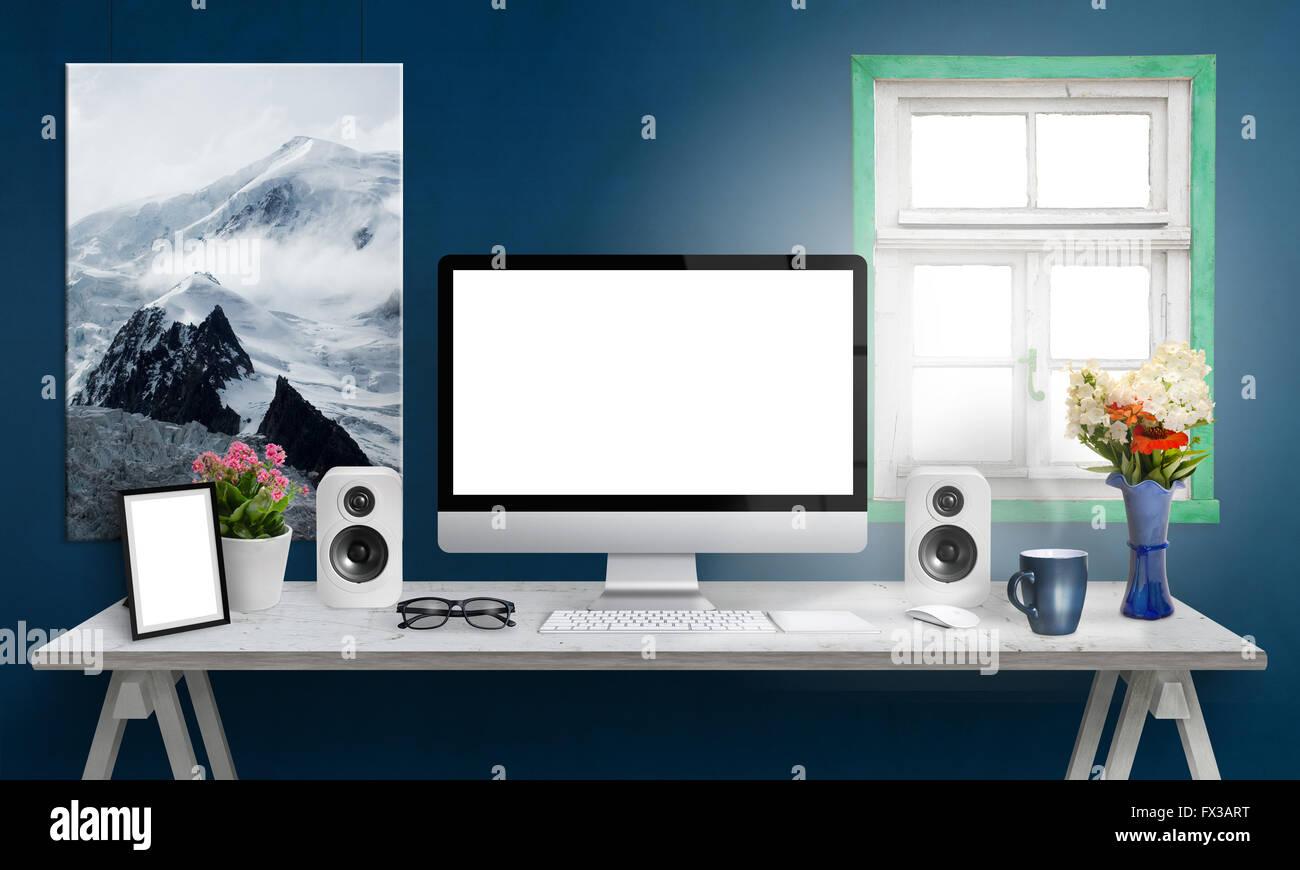 Groß Schreibtisch Bilderrahmen Bilder - Benutzerdefinierte ...