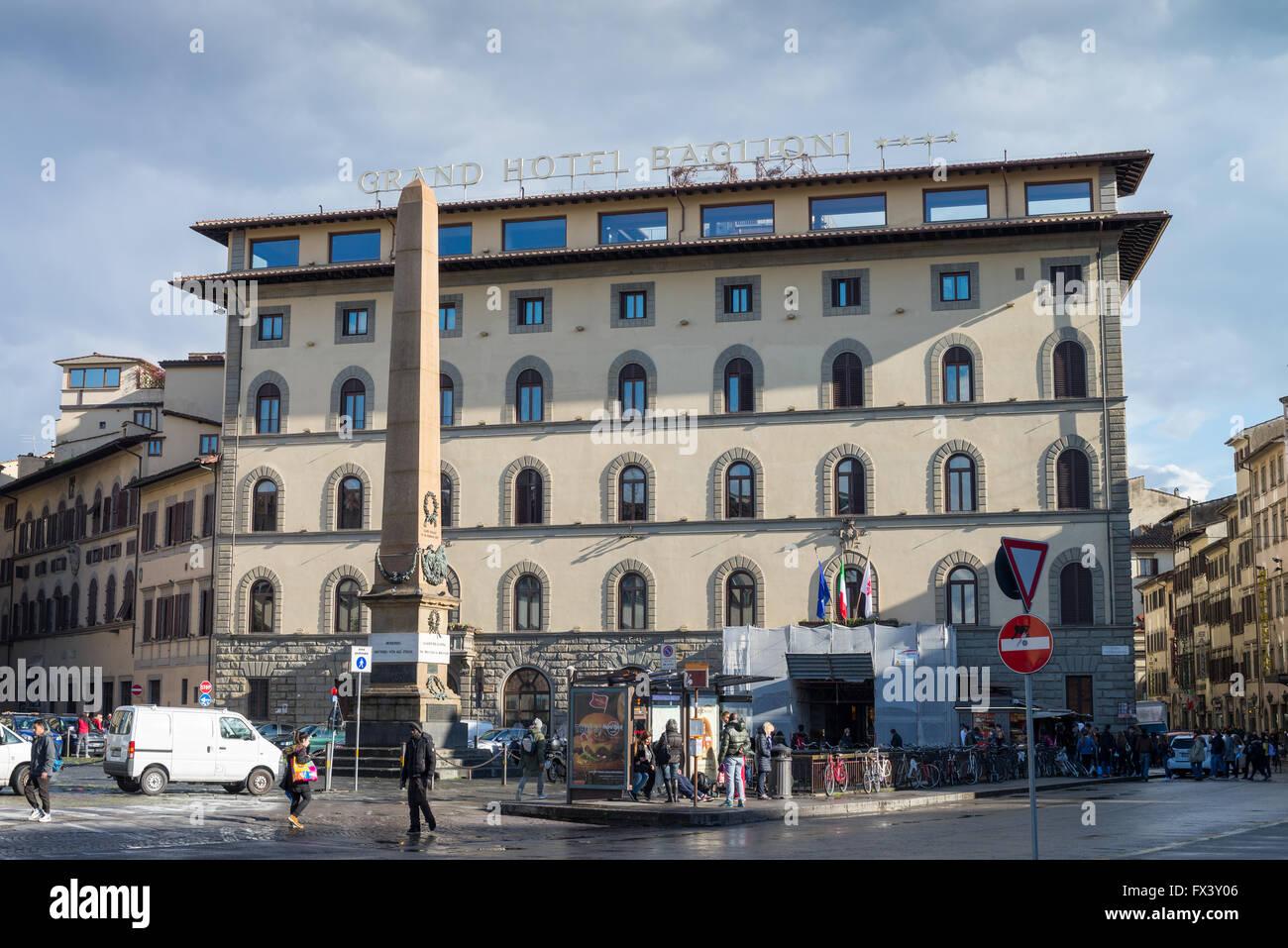 Dell Unita D Italia Die Piazza Grand Hotel Baglioni Florenz