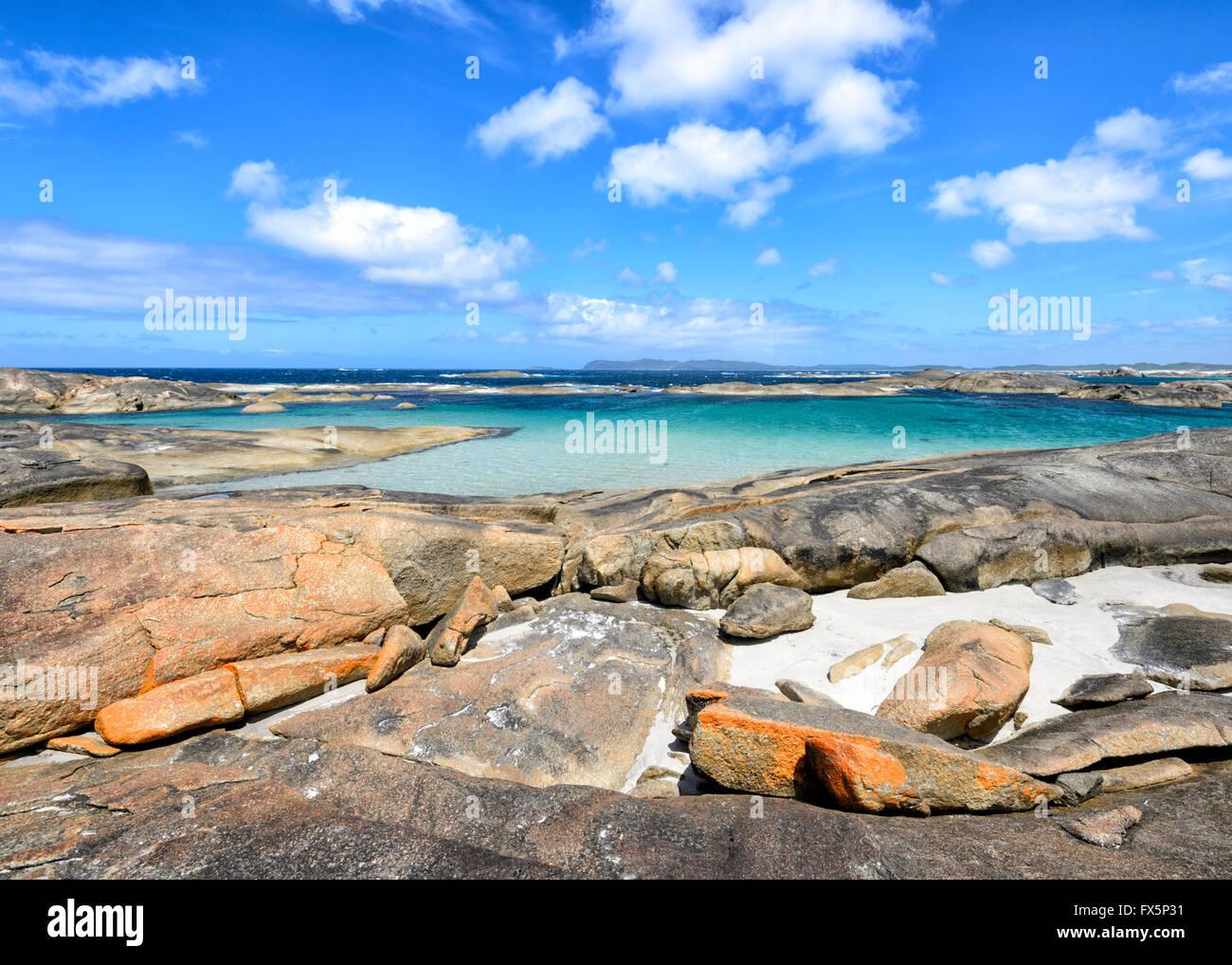 Grünen Pool, Denmark, Westaustralien, Australien Stockbild