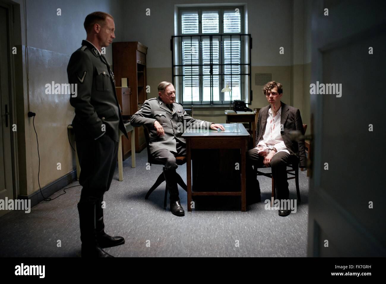 Elser Jahr: 2015 Deutschland Regie: Oliver Hirschbiegel Bernd Schuller, Burghart Klaußner, Christian Friedel Stockbild