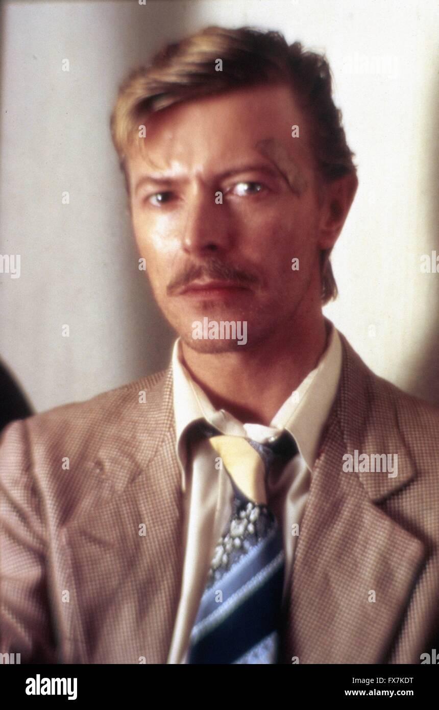 In der Nacht-Jahr: 1985 - USA Regie: John Landis David Bowie Stockbild
