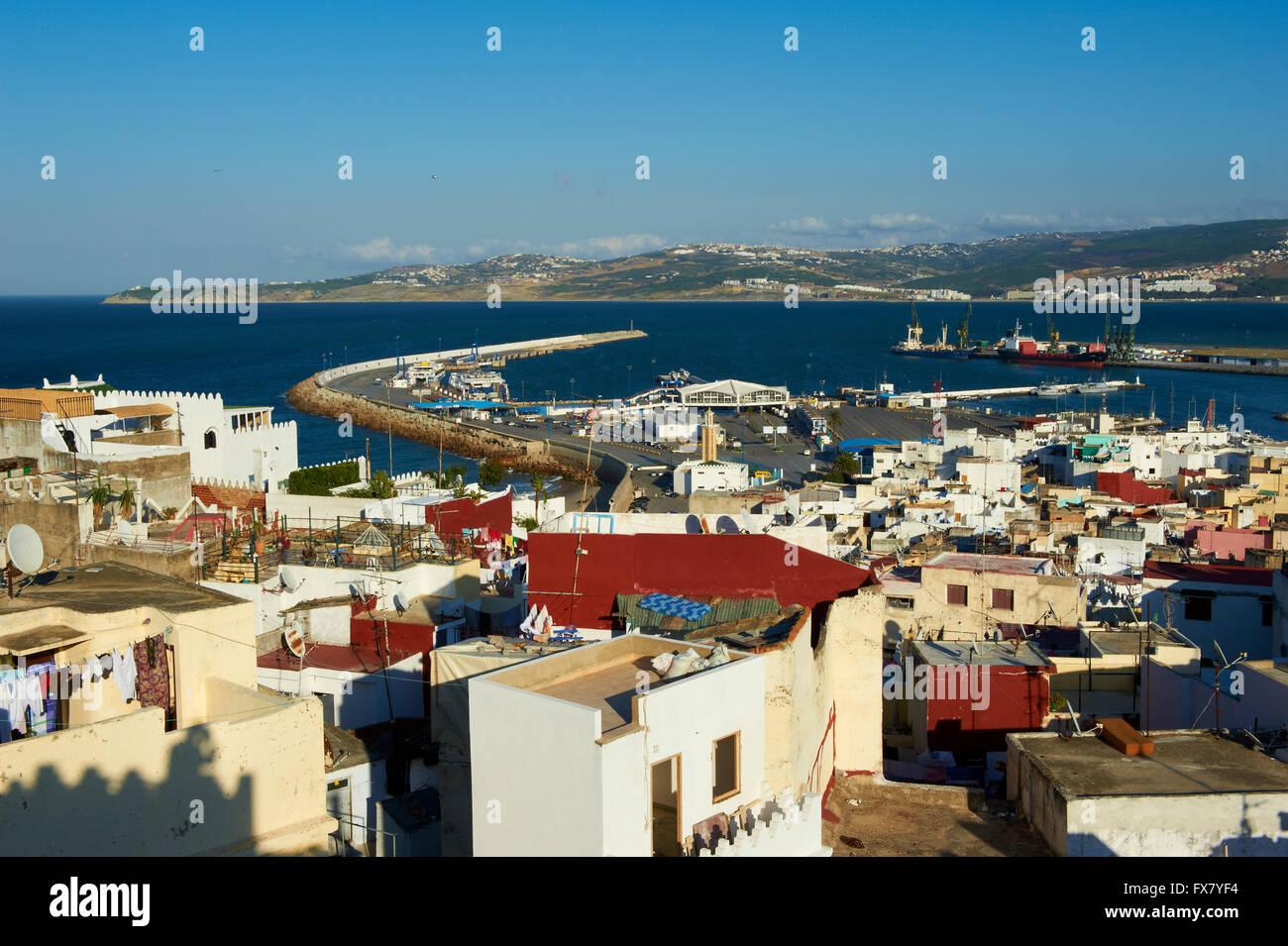 Marokko, Tanger, Medina, Altstadt Stockbild