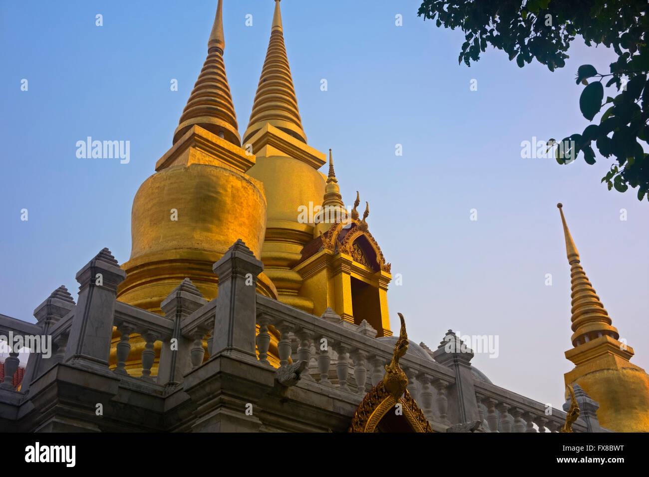 Wat Tri Thotsathep Banglamphu Bangkok Thailand Stockbild