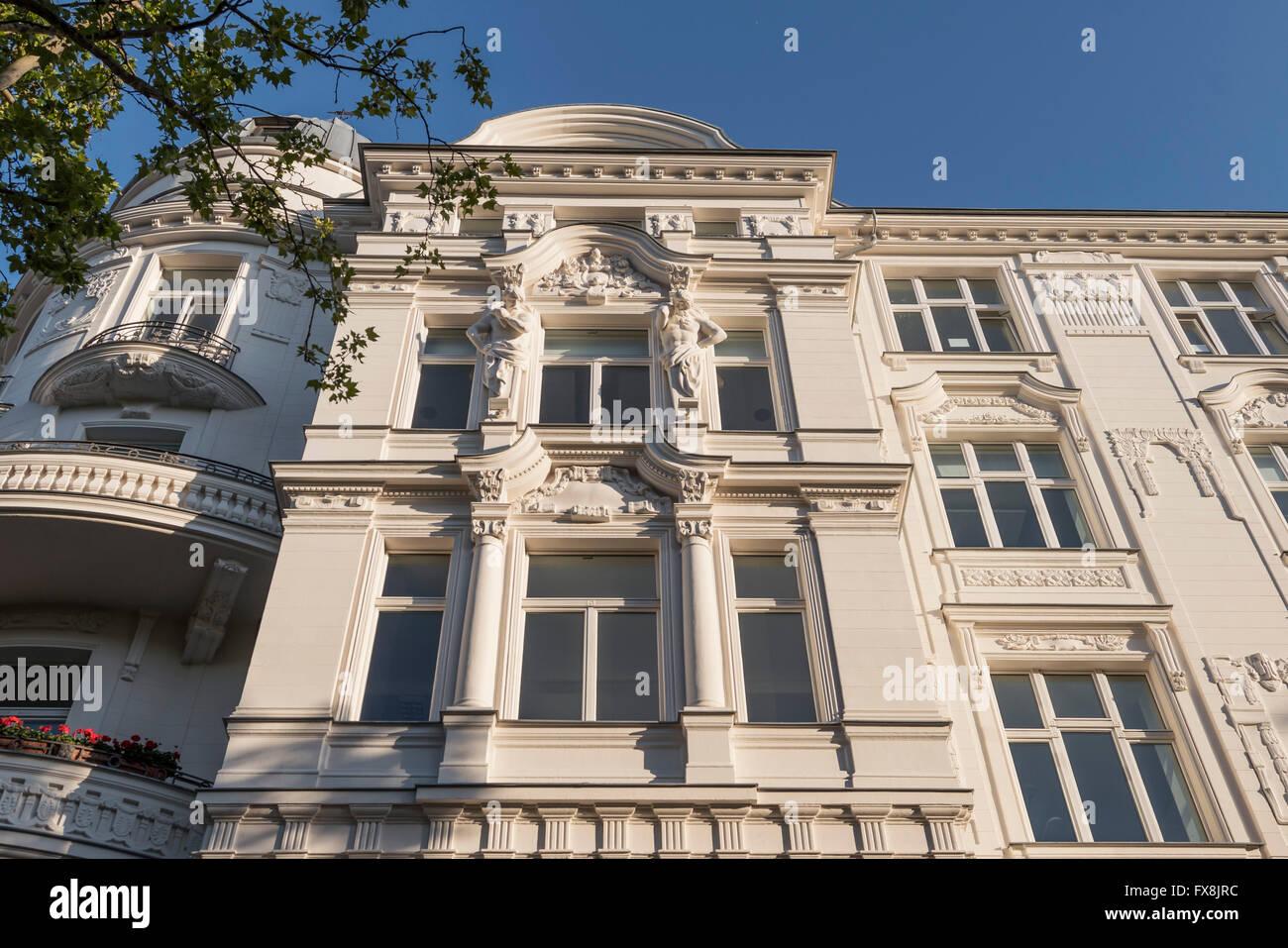 Kurfürstendamm, Luxus-Gebäude, City West, Berlin Stockbild