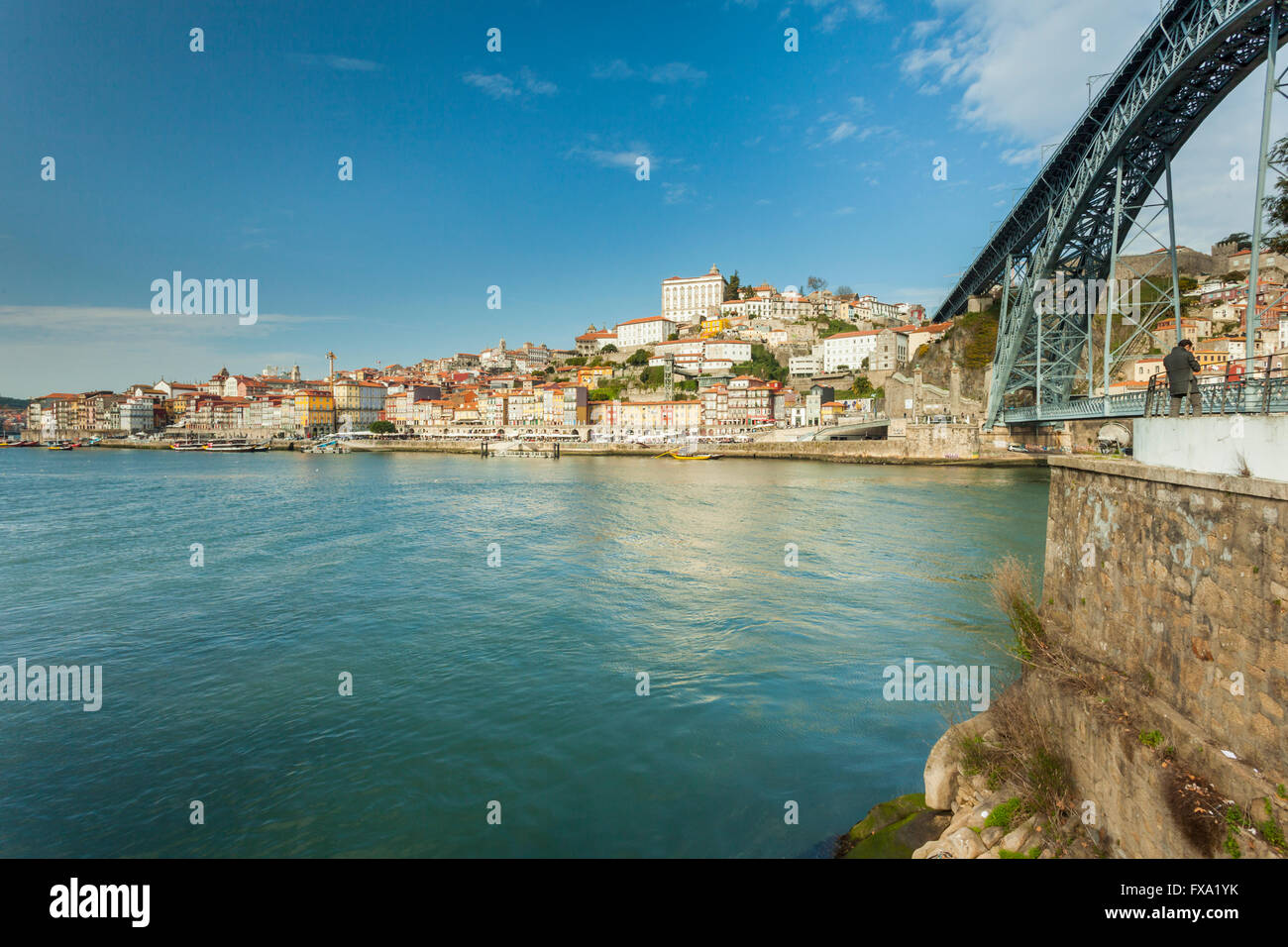 porto portugal bridge stockfotos porto portugal bridge bilder alamy. Black Bedroom Furniture Sets. Home Design Ideas