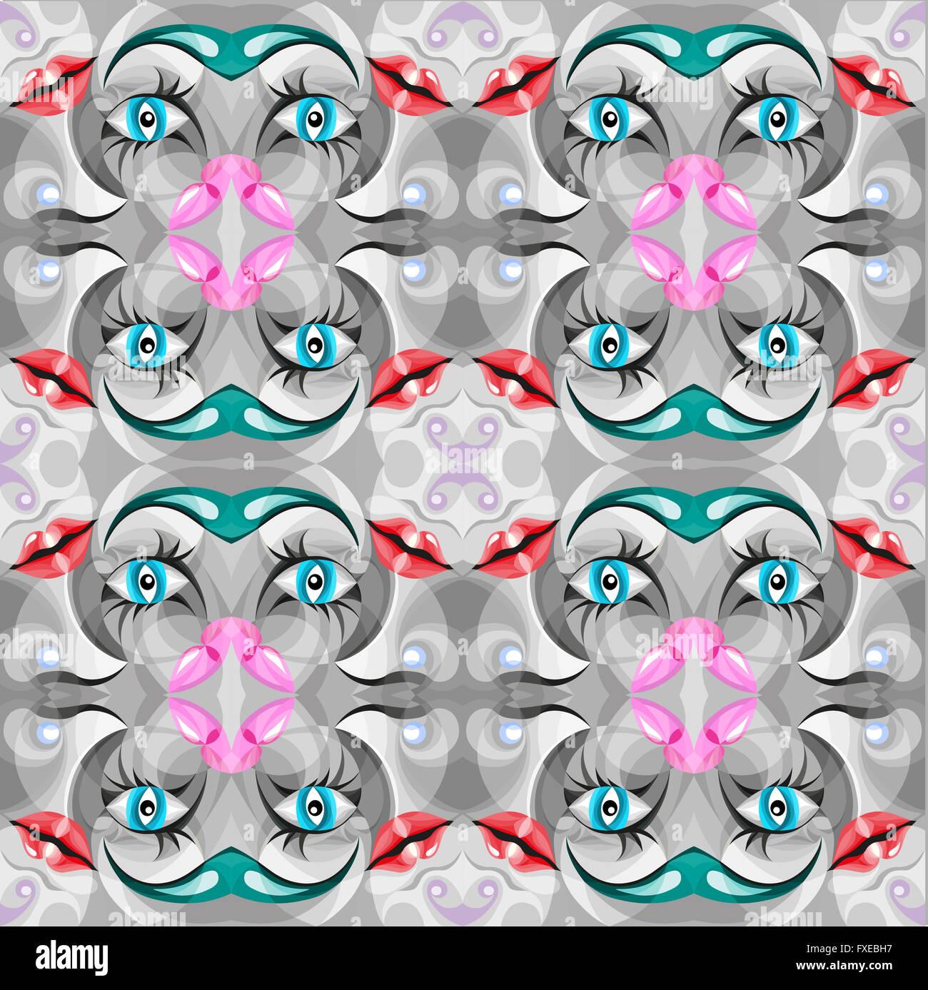 Bunt, schön, Abstrakt Textur Musterdesign Hintergrund Stockbild