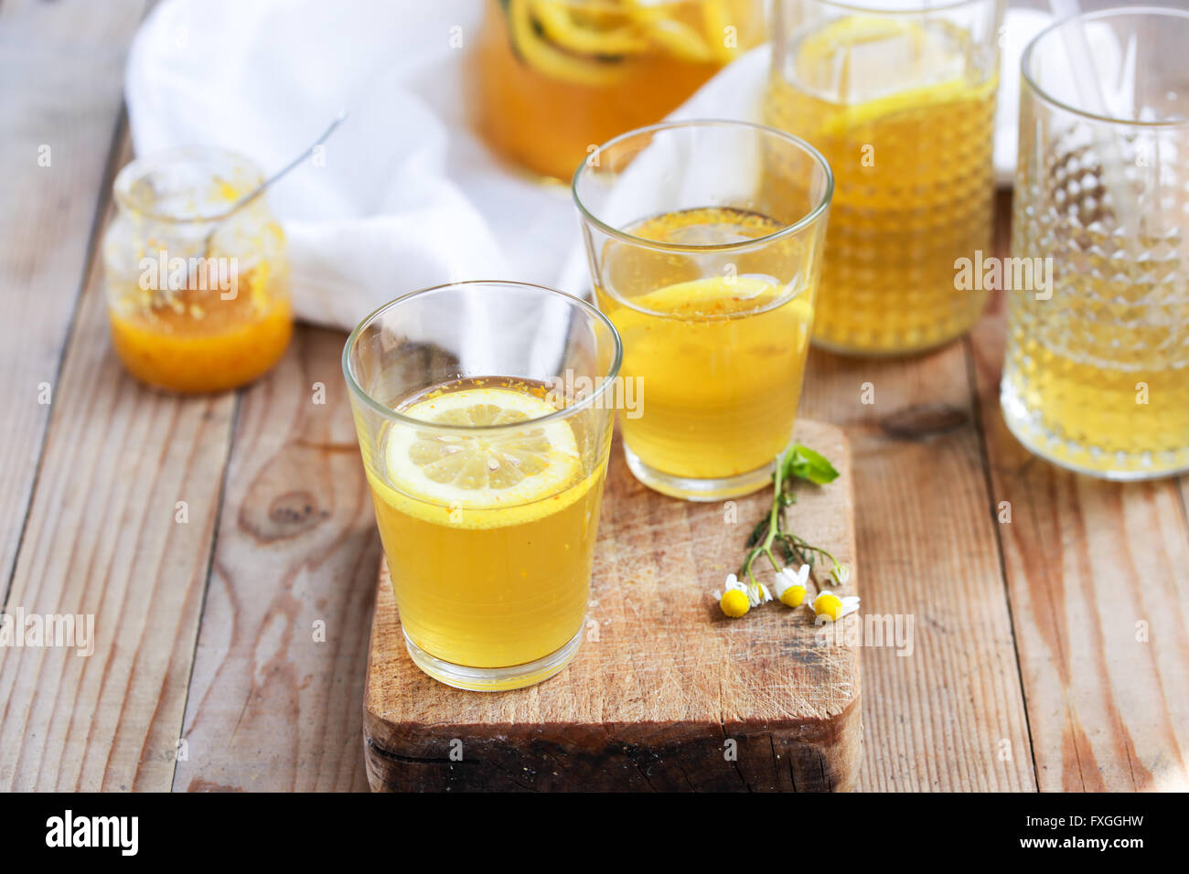 Hausgemachte Limonade Stockbild