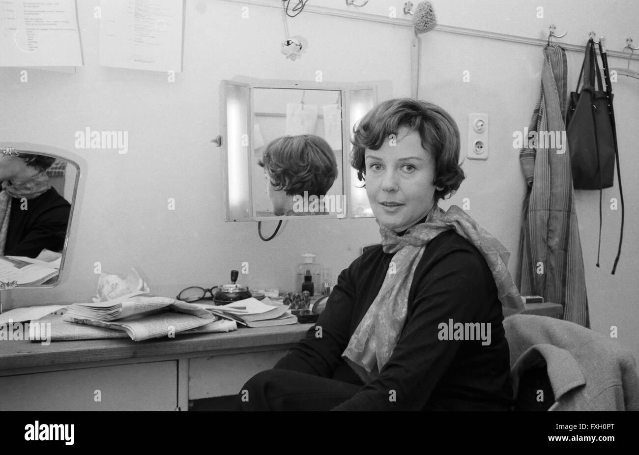 Deutsche plant Doris Schade, Deutschland 1970er Jahre. Die deutsche Schauspielerin Doris Schade, Deutschland 1970. Stockfoto