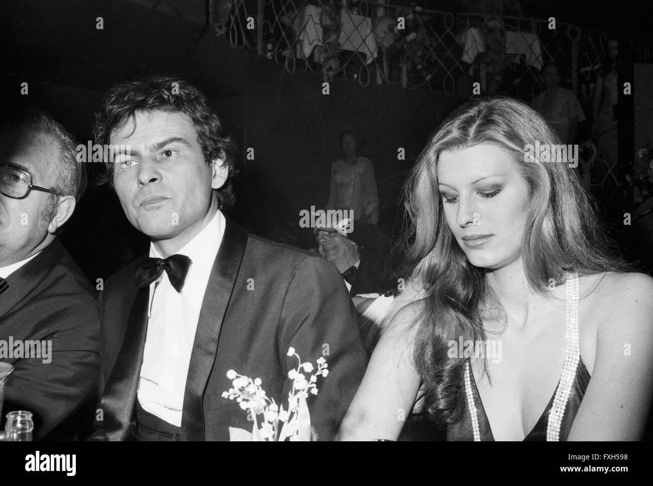 Der Schauspieler Horst Buchholz Beim SPIO Filmball in München 1976, 1970er Jahre Deutschland. Schauspieler Stockbild