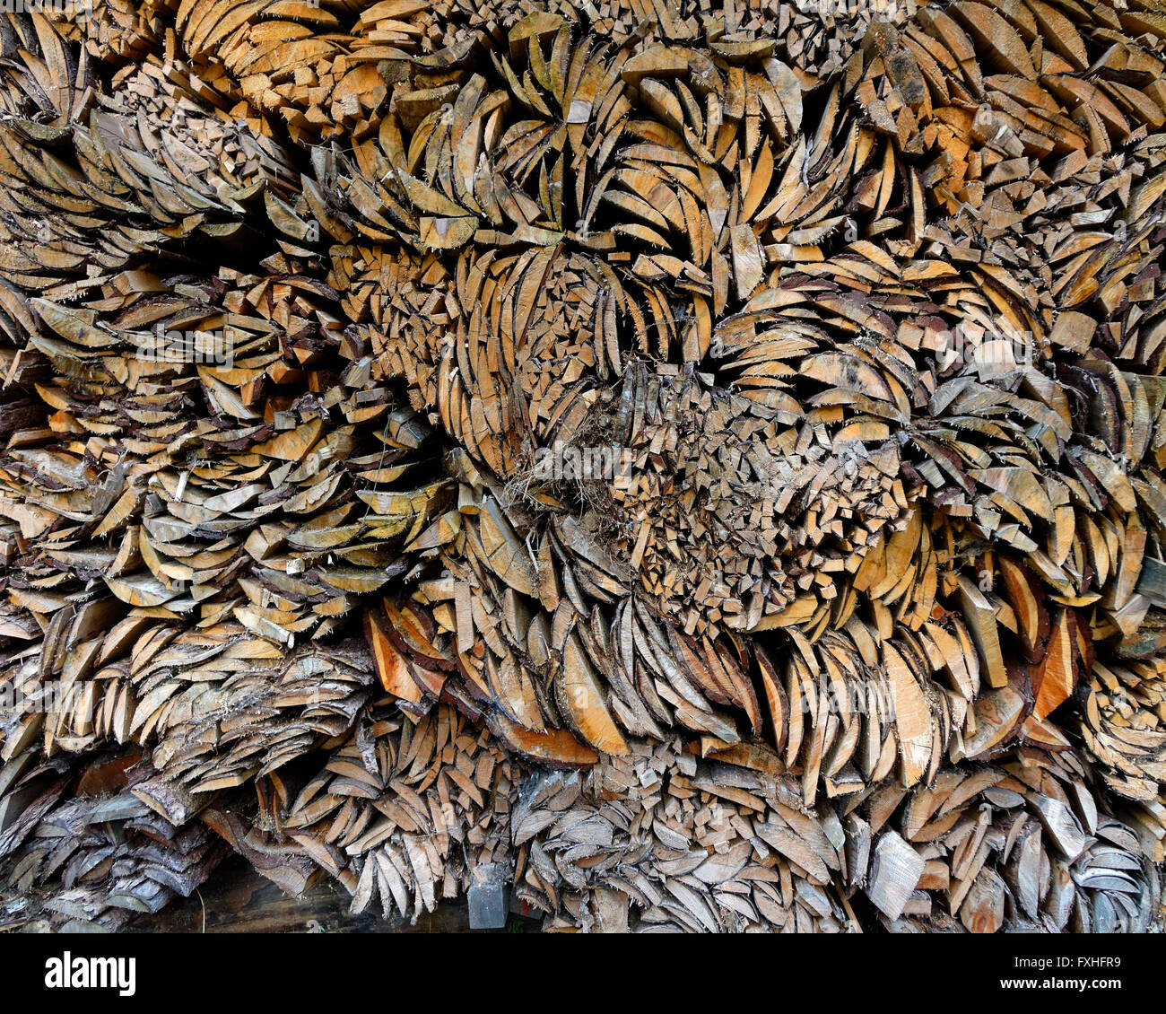 Konzept-Fotografie: Holz-die Alternative Energie Stockbild