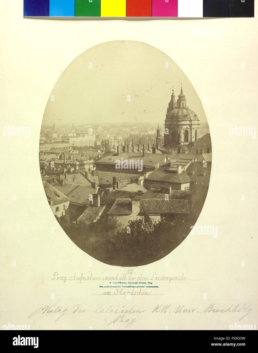 Teilansicht Prag Stockbild