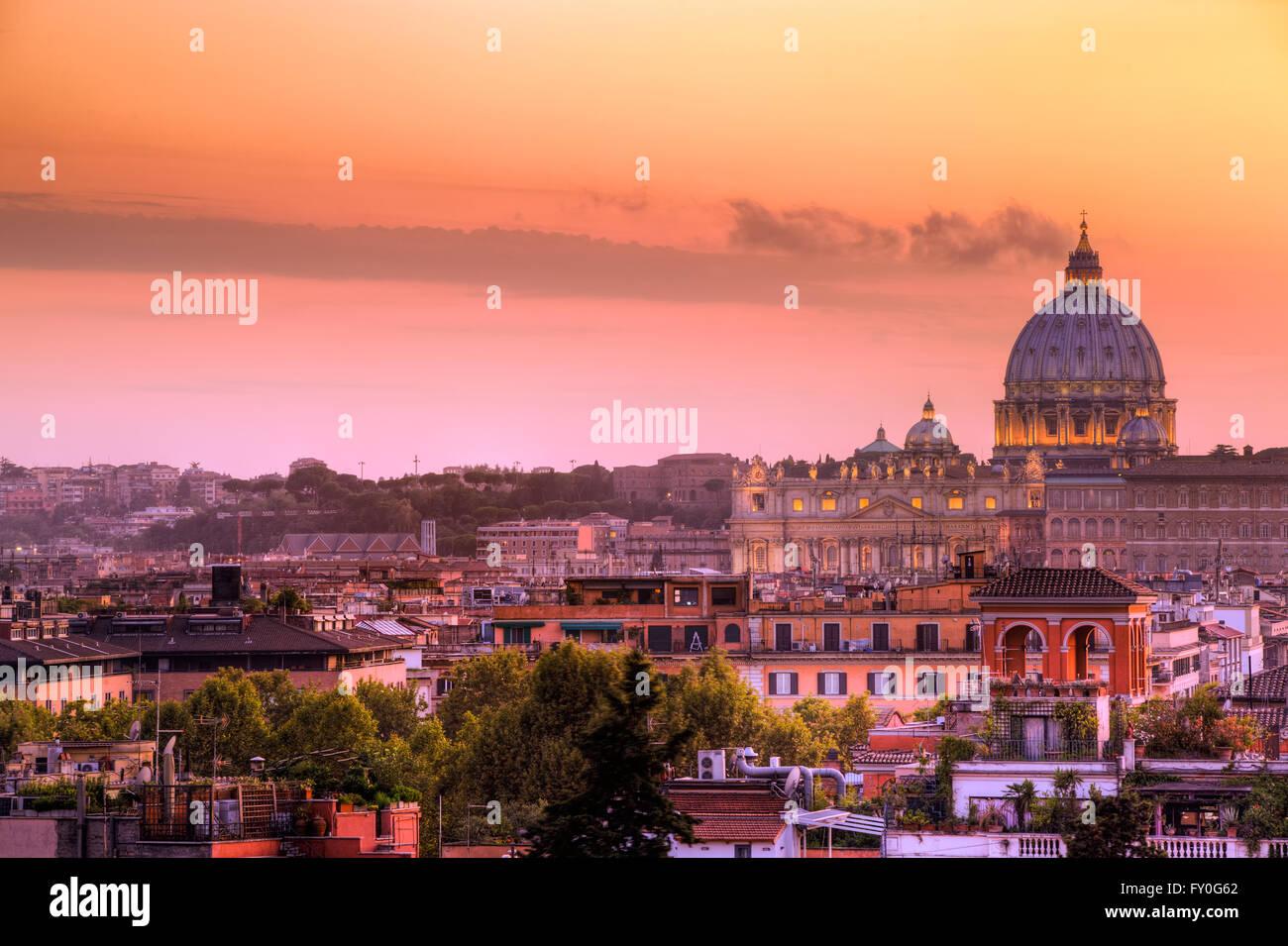 S. Pietro Vista Dalla Terrazza del Pincio - S. Peter in Rom-Blick ...