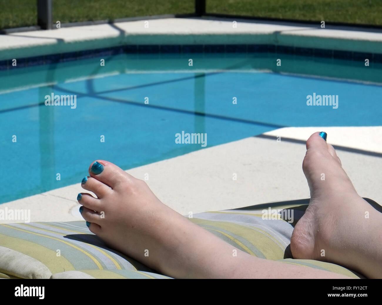Reife Frauen Füße Bilder