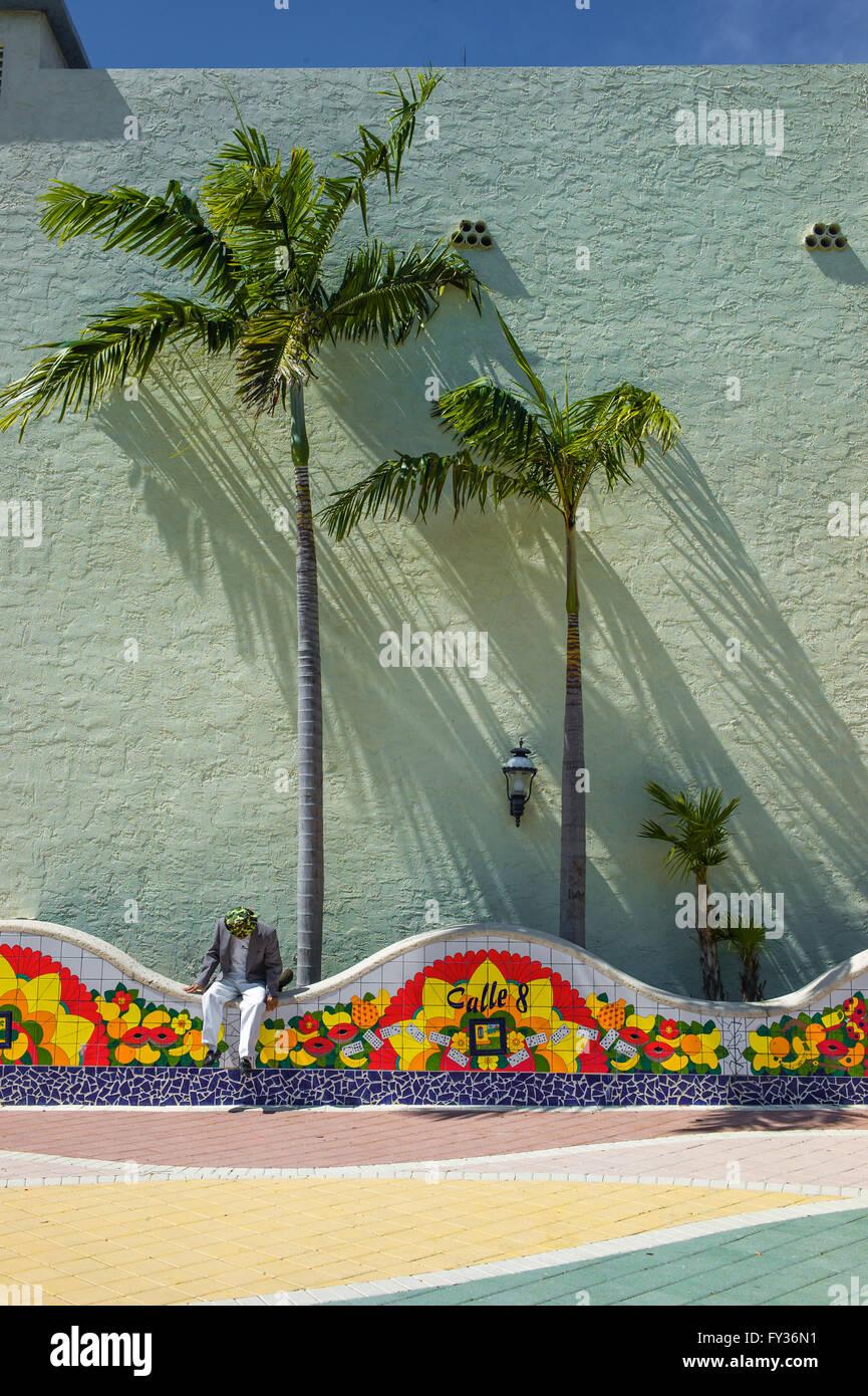 Domino Park. Miami. Florida. USA Stockbild