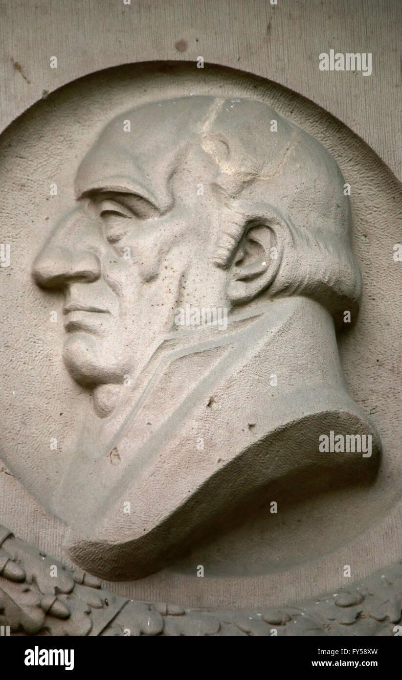 Friedrich von Stein, Berlin. Stockbild