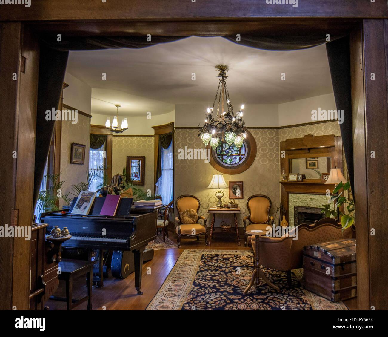 Port Townsend, Washington, USA. 24. März 2016. Der alte Konsulat Inn ...