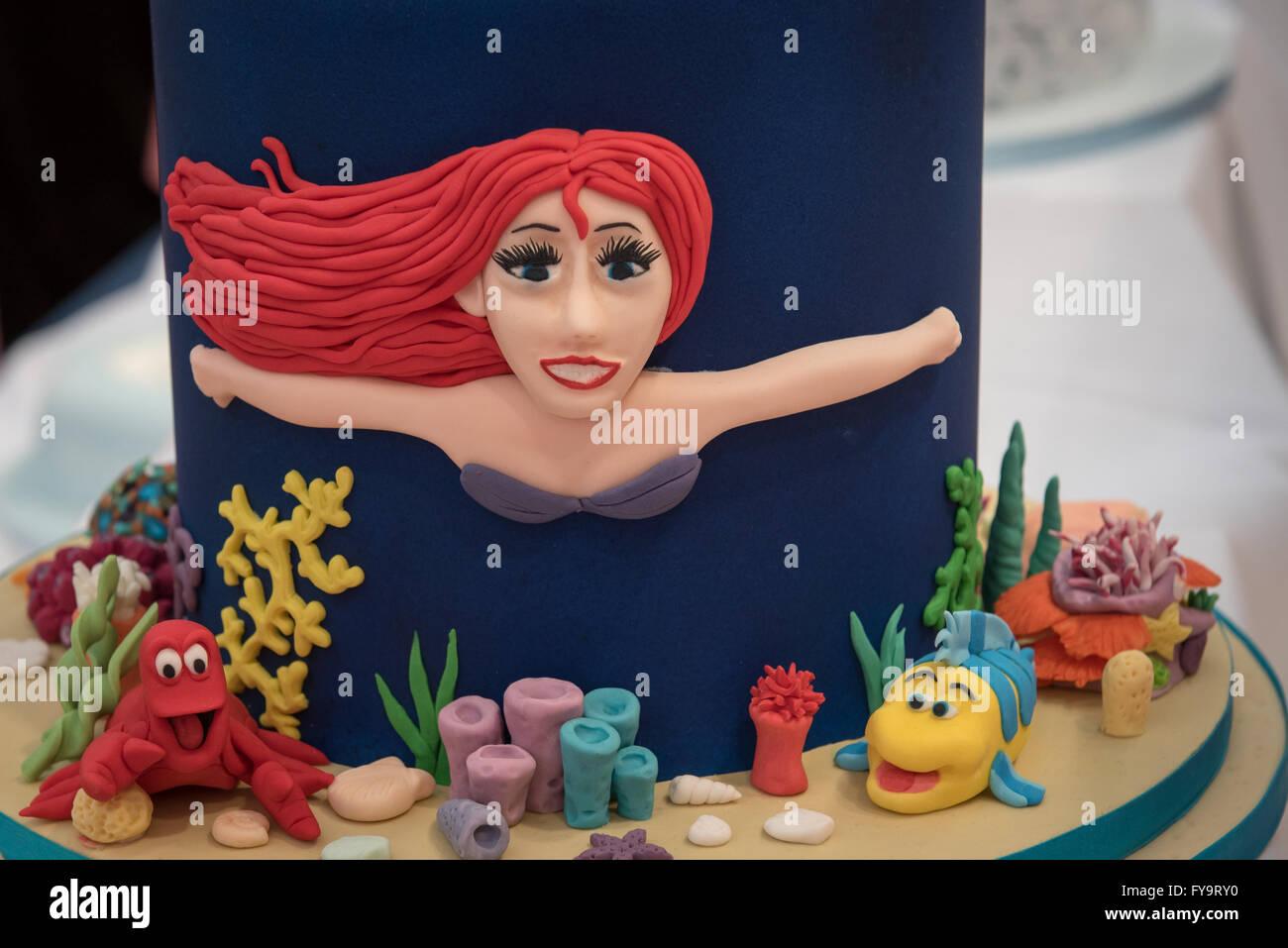 Meerjungfrau Prinzessin Ariel Geburtstagskuchen Kuchen International