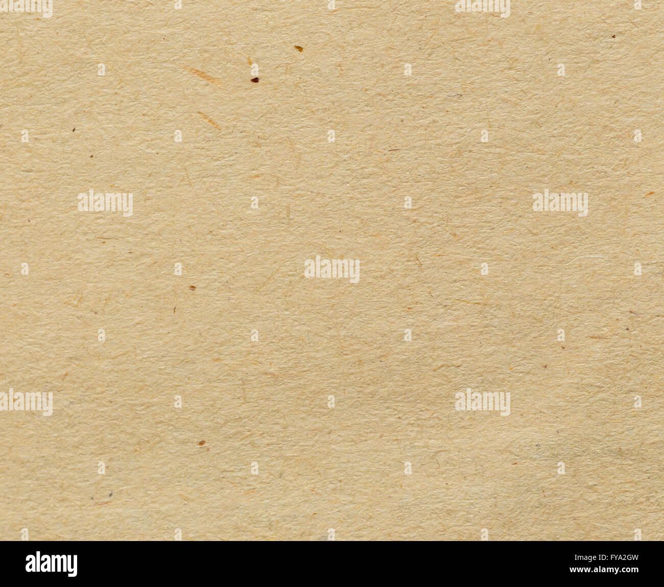 Naturpapier Textur Hintergrund mit Partikeln für Design-Einsatz Stockbild