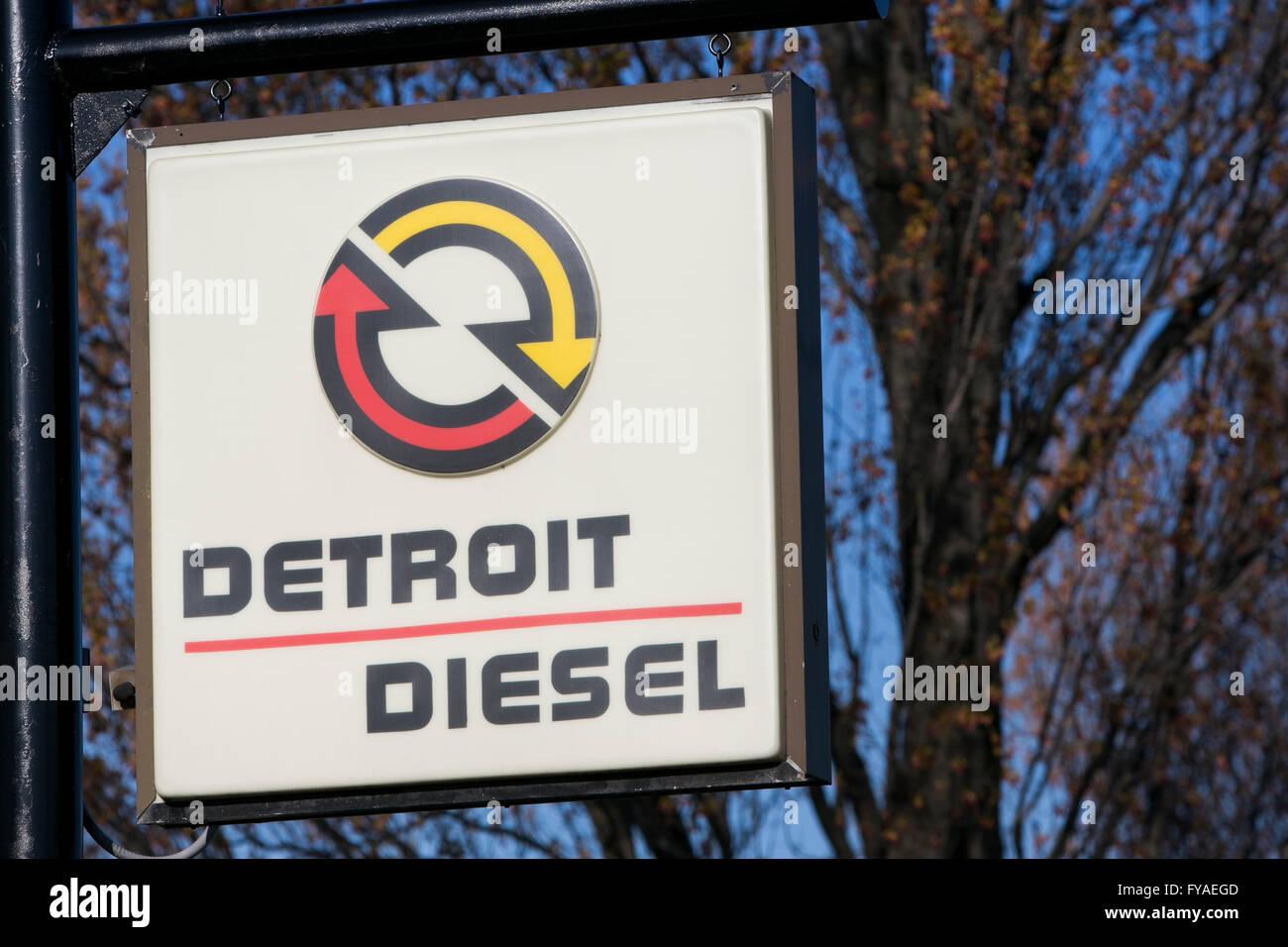 Detroit Diesel Stockfotos & Detroit Diesel Bilder - Alamy