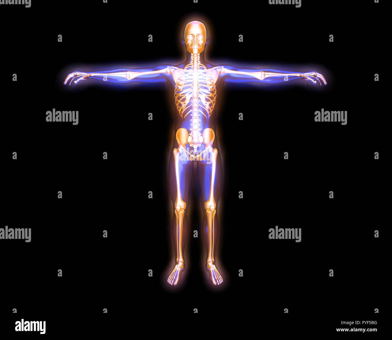 Energiekörper Stockfoto