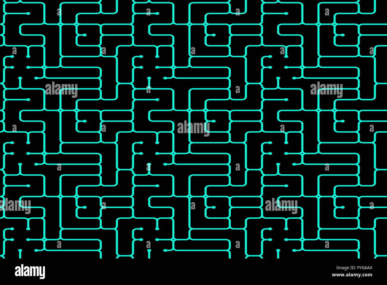 die Matrix-Hintergründe Stockbild