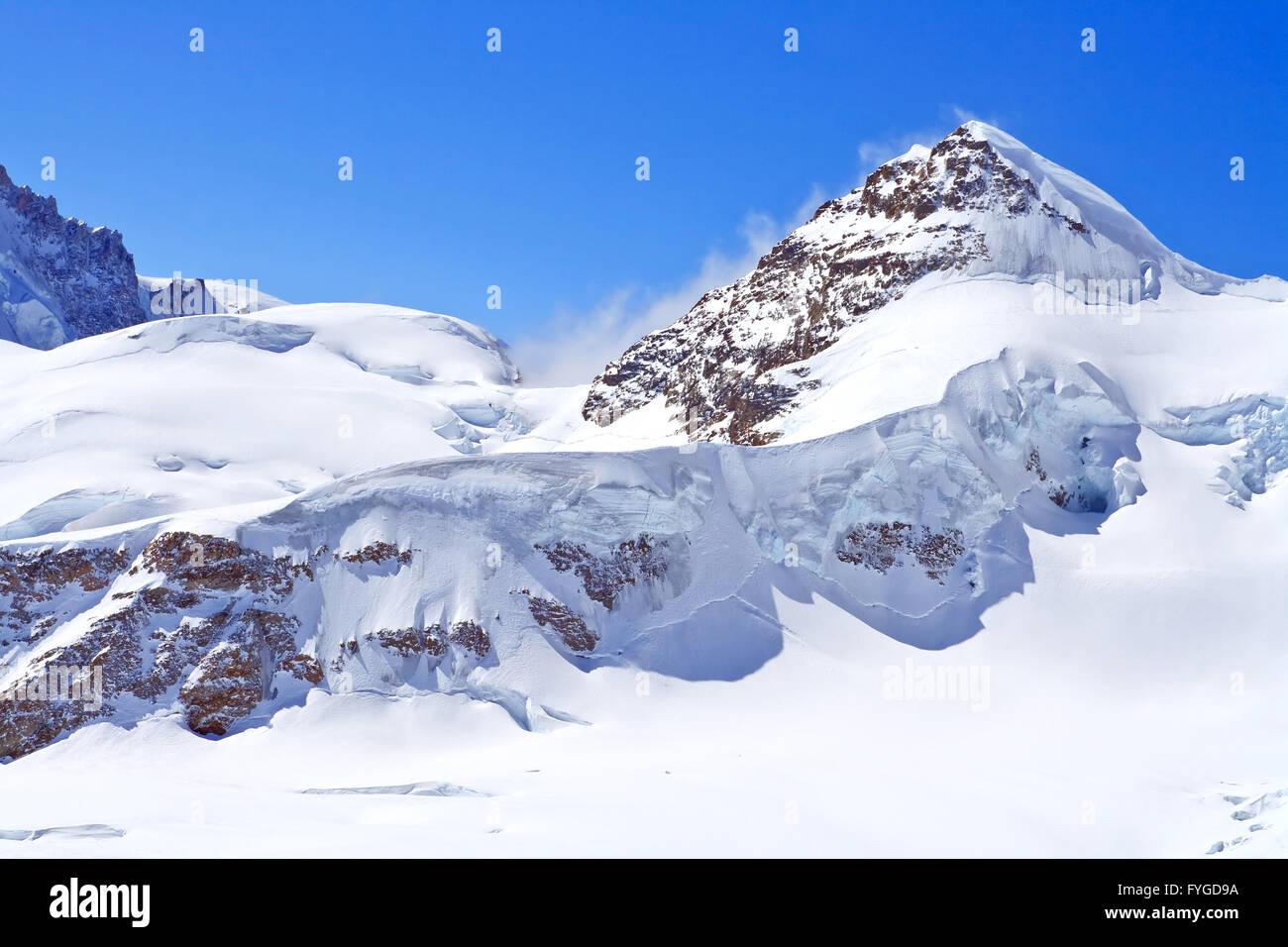 Der Schweizer Alpen in der Jungfrauregion, Schweiz Stockbild