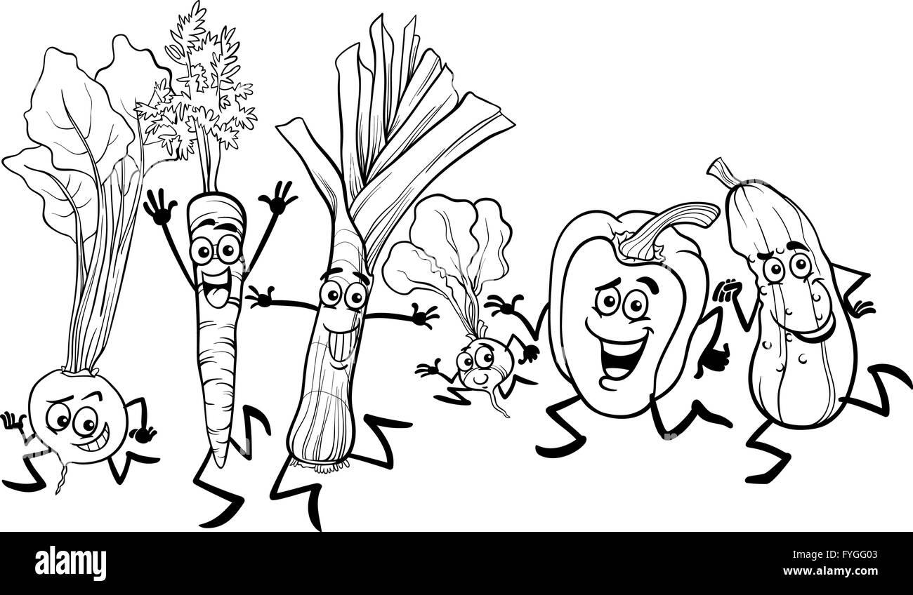Atemberaubend Druckbare Obst Und Gemüse Malvorlagen Fotos - Entry ...