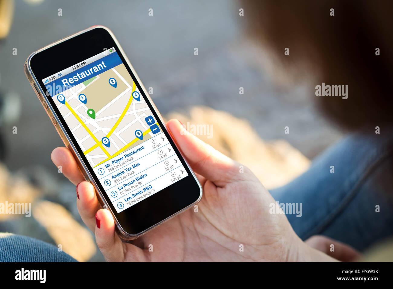Location Finder Stockfotos & Location Finder Bilder - Alamy
