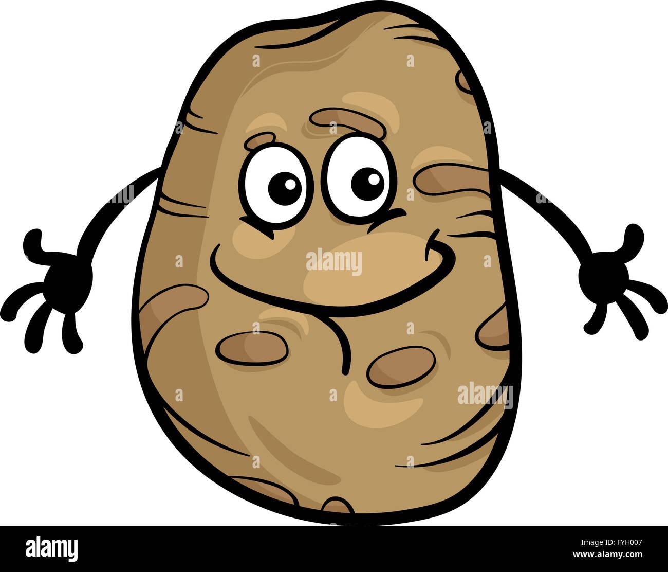 Cartoon Potato Stockfotos und -bilder Kaufen - Seite 2 - Alamy (1300 x 1112 Pixel)