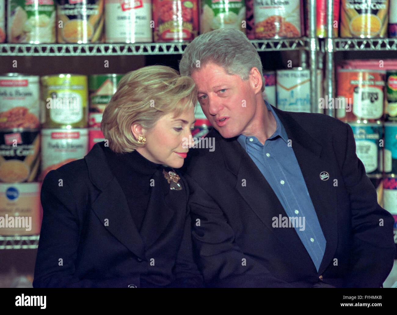 Hillary Rodham Clinton Christmas Stockfotos & Hillary Rodham Clinton ...