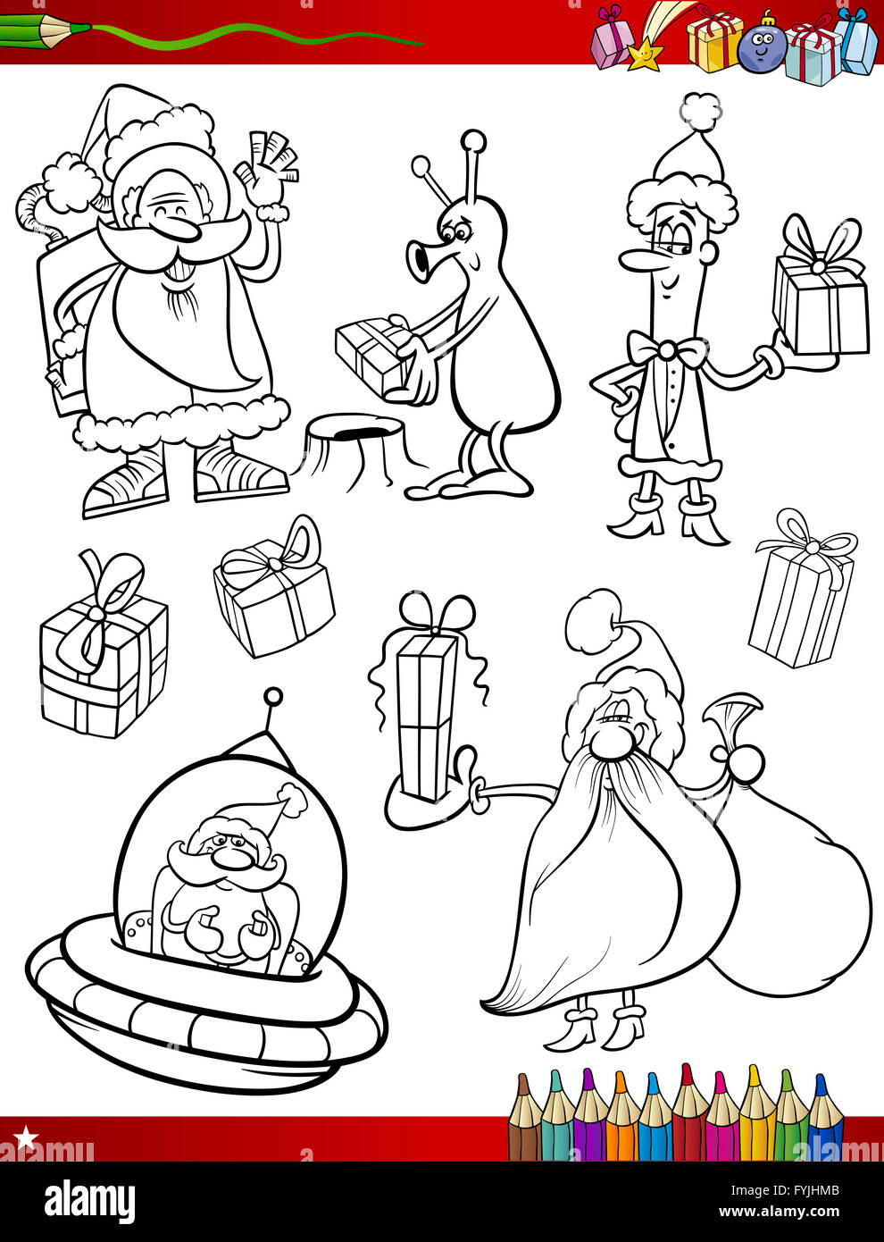 Cartoon Cute Elf Sack Stockfotos & Cartoon Cute Elf Sack Bilder - Alamy