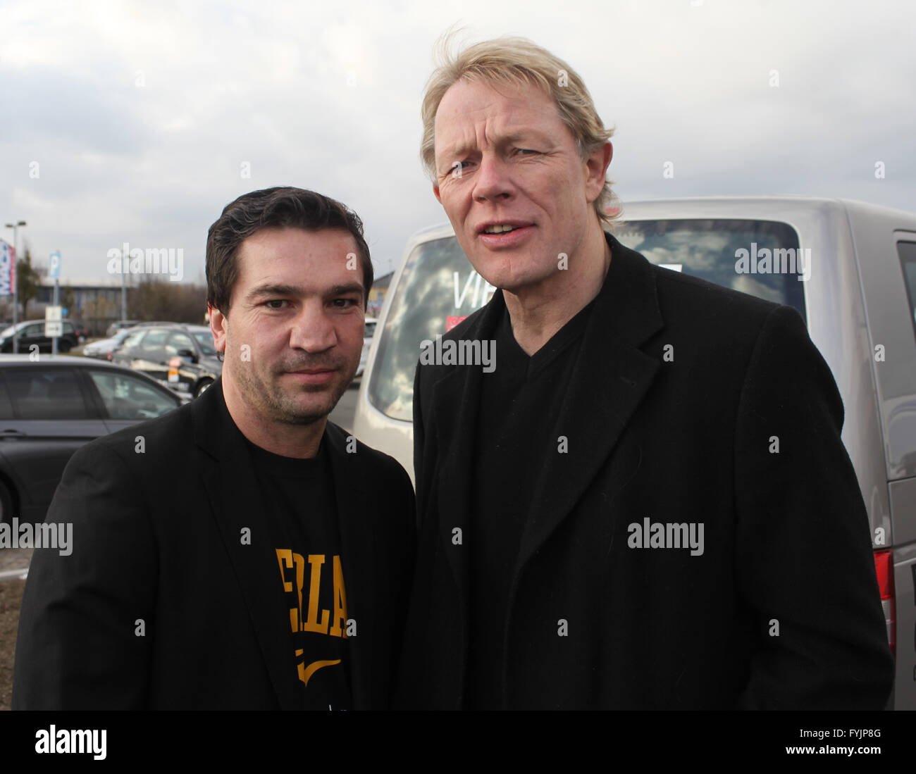 Markus Beyer Und Alexander Von Der Groeben Stockfoto Bild