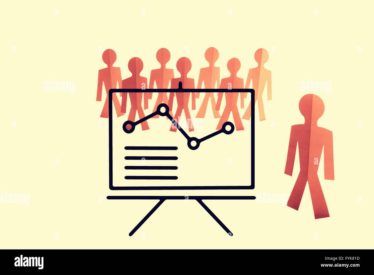 Business Analyst, Teamtraining, Konzept Stockbild