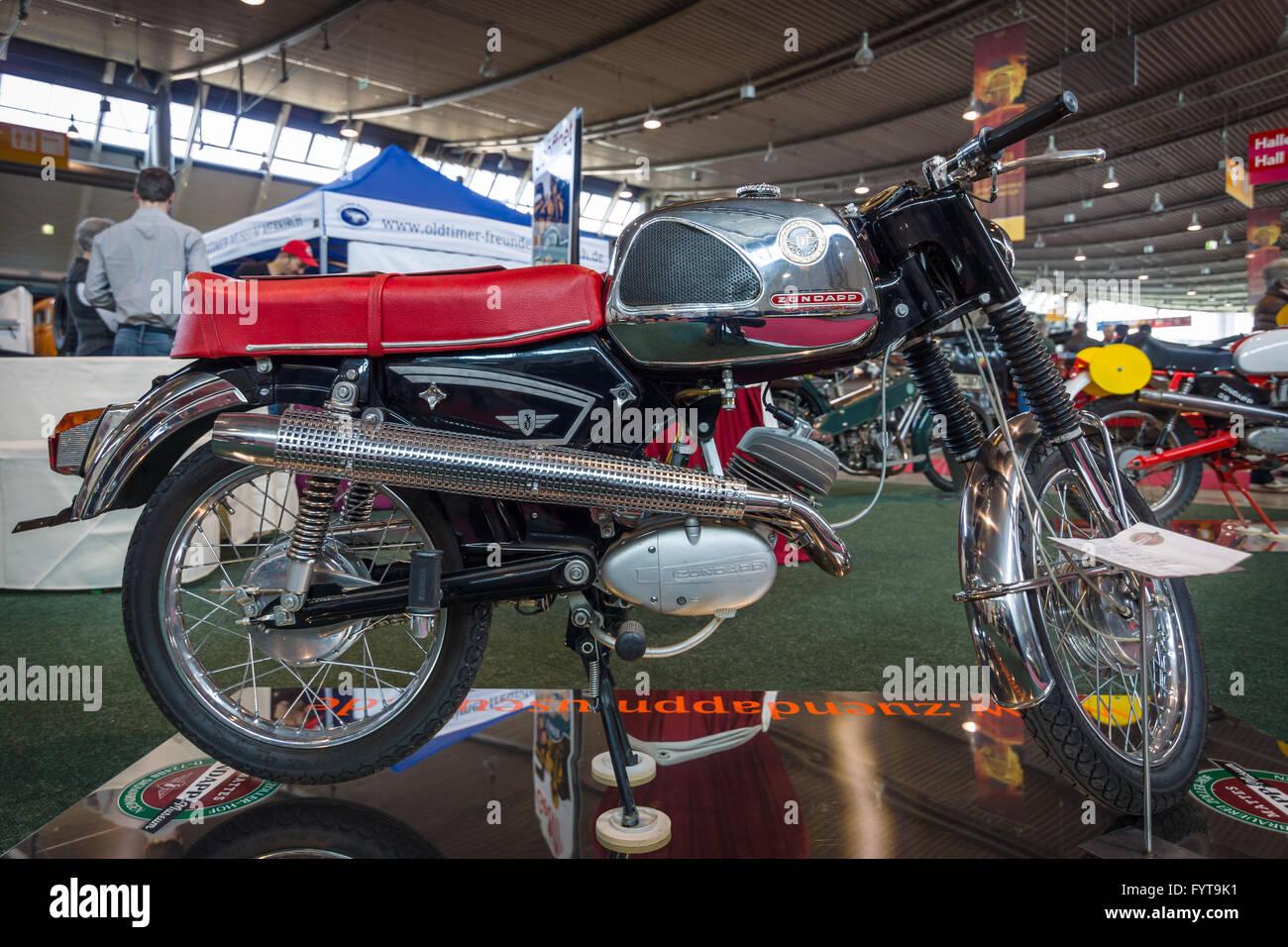 motorrad z ndapp ks 50 super sport 1969 stockfoto bild 103181989 alamy. Black Bedroom Furniture Sets. Home Design Ideas
