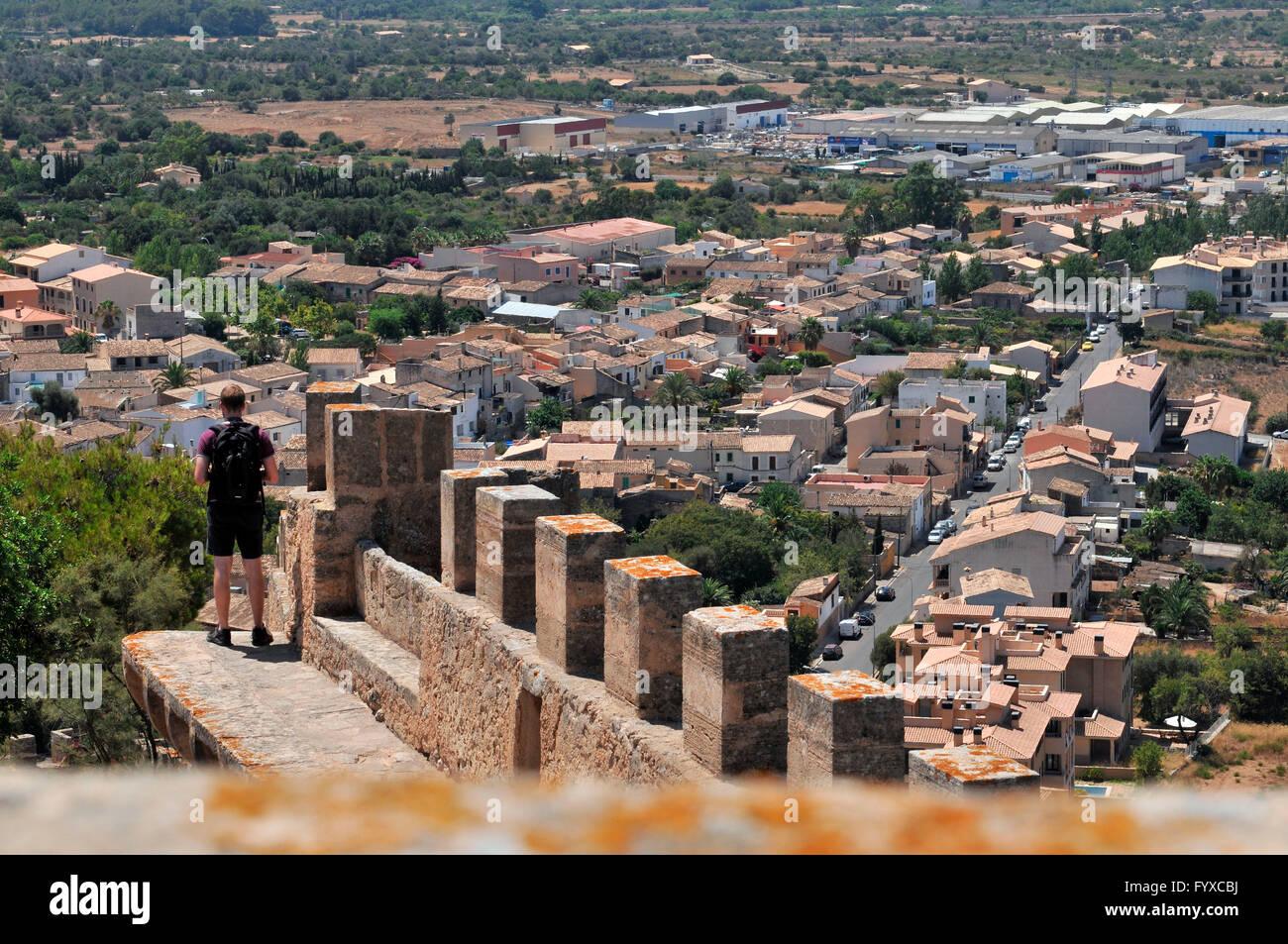 Festung Capdepera, Mallorca, Spanien Stockfoto