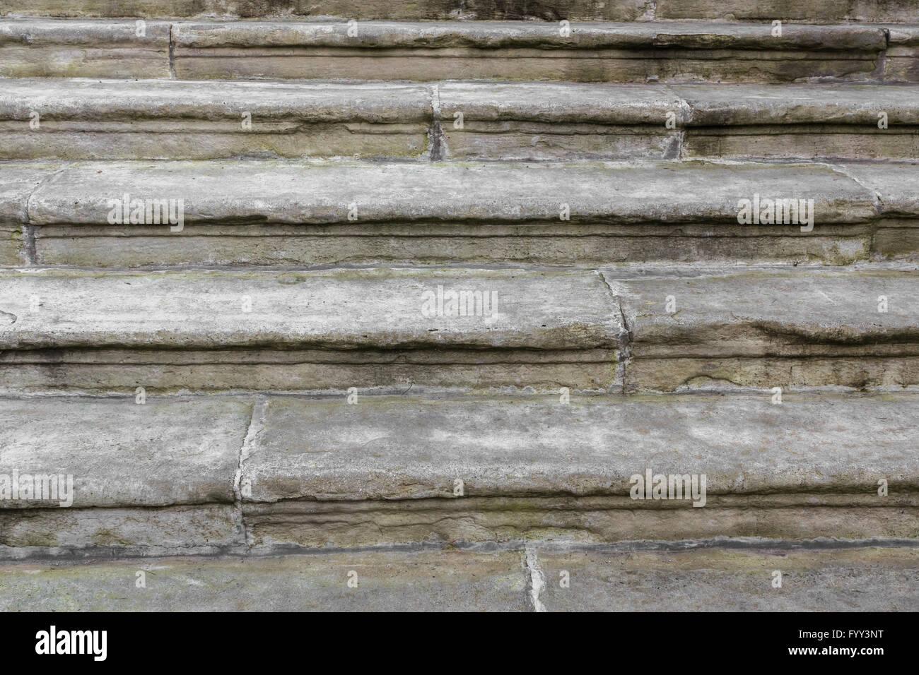 Alte Treppen Stockbild