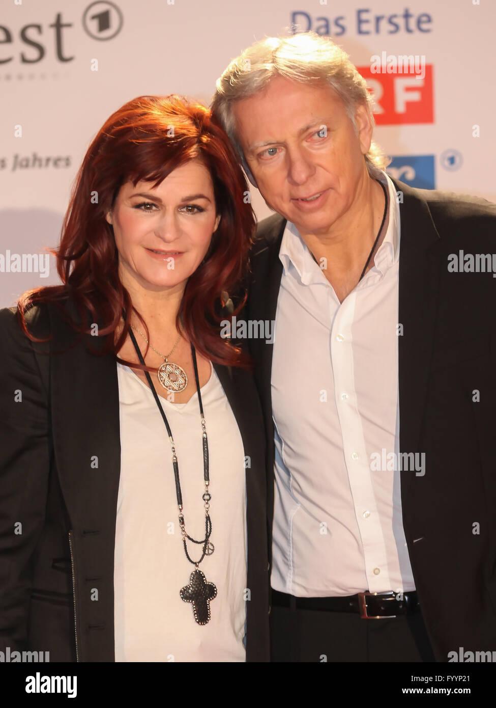 Sängerin Andrea Berg und Ulrich Ferber Stockfoto, Bild ...