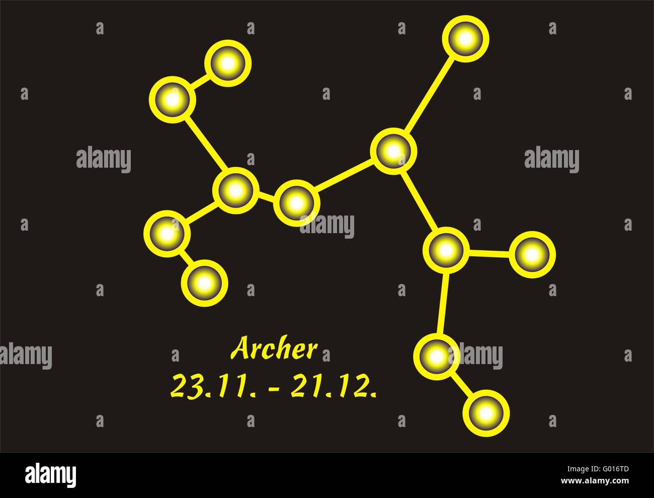 Sternzeichen Schütze Wann sternzeichen schütze stockfoto, bild: 103289549 - alamy