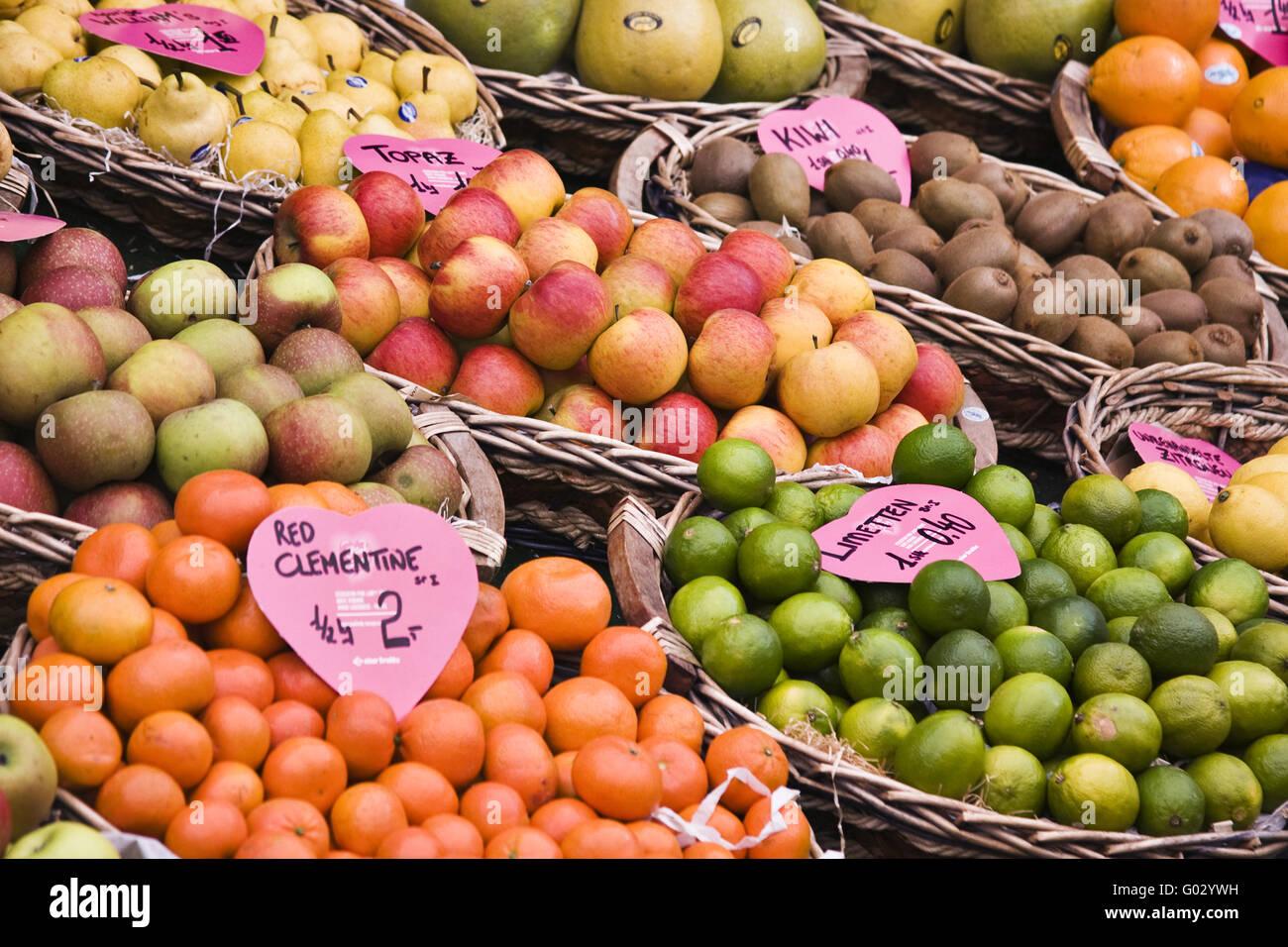 Obst Stockbild