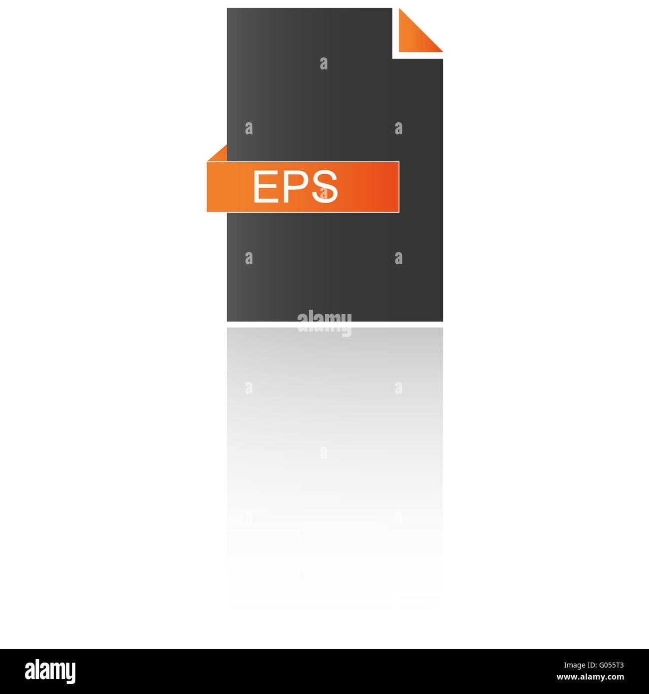EPS-Daten Stockbild