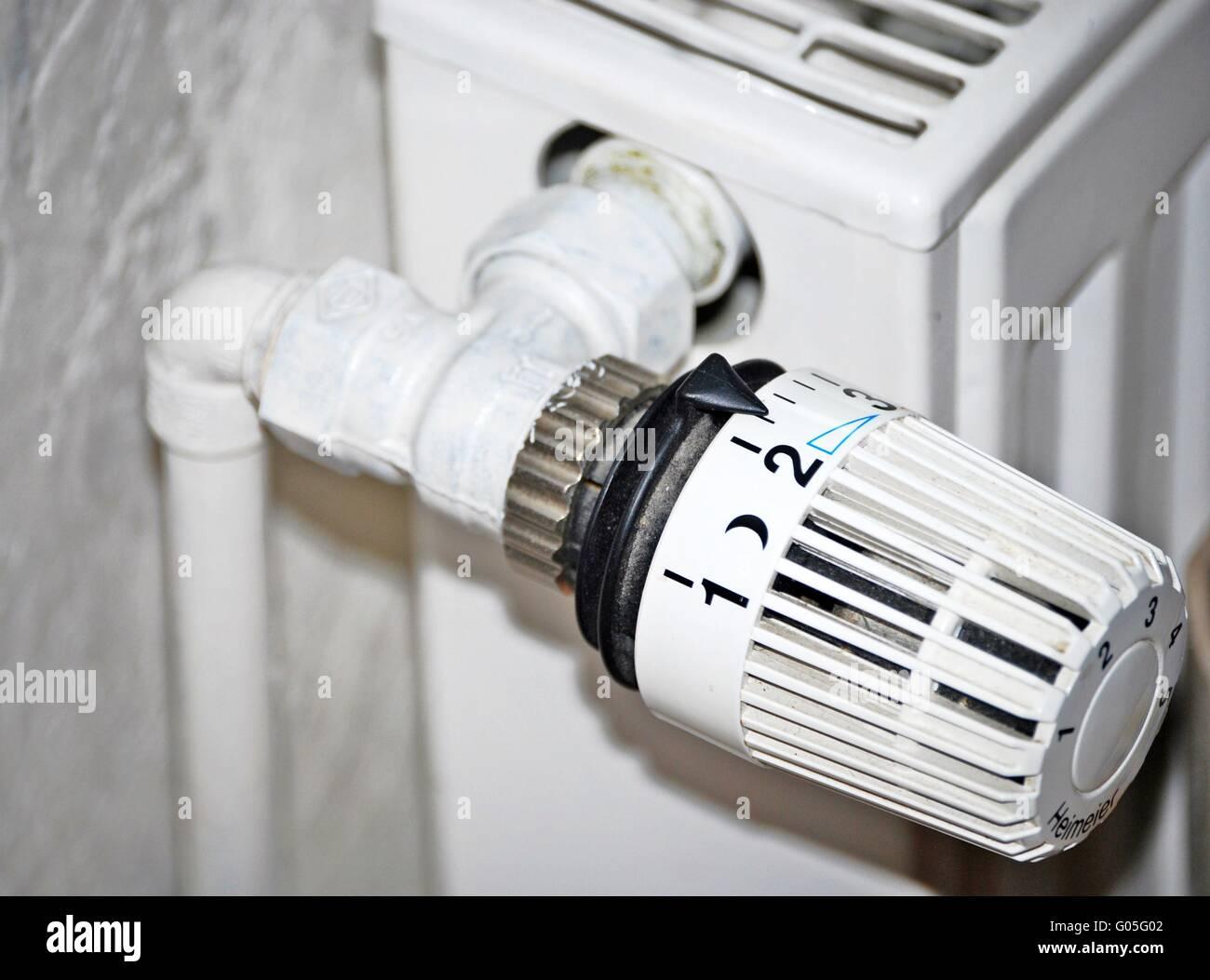 Heizung Thermostat Stockfoto Bild 103384514 Alamy